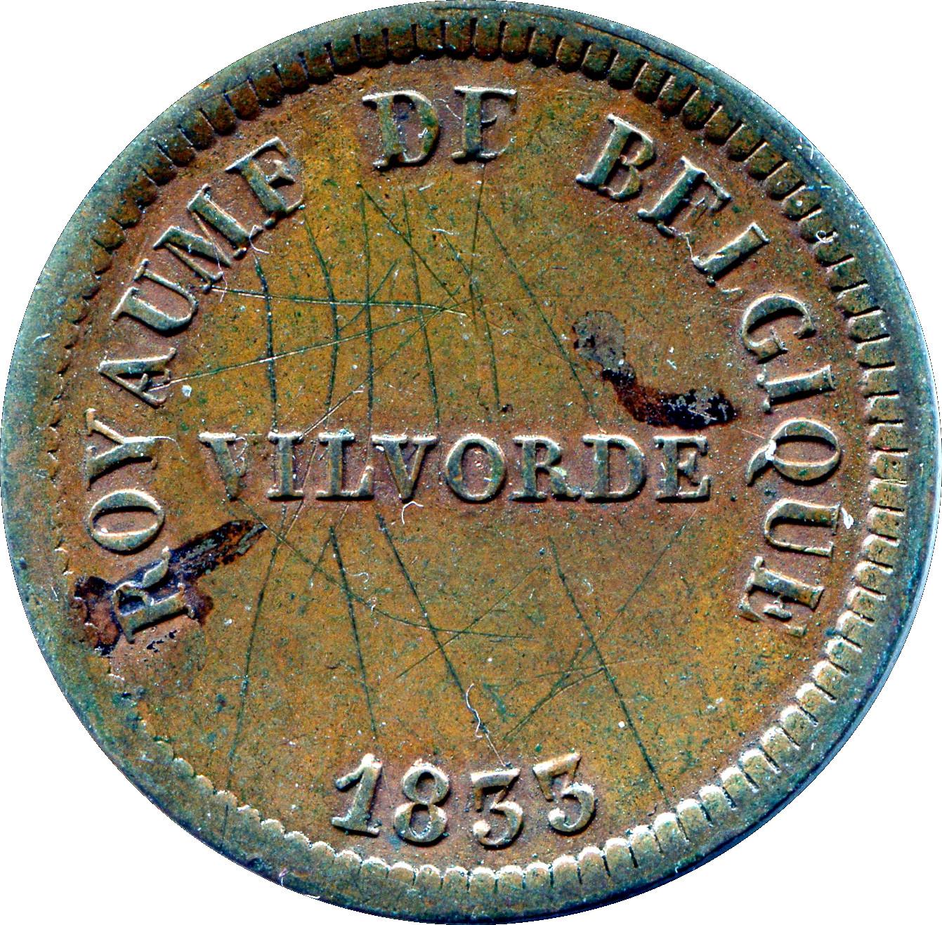 25 Centimes - Monnaie Fictive (Velvorde, Monnaie pour Monnaie Fictive