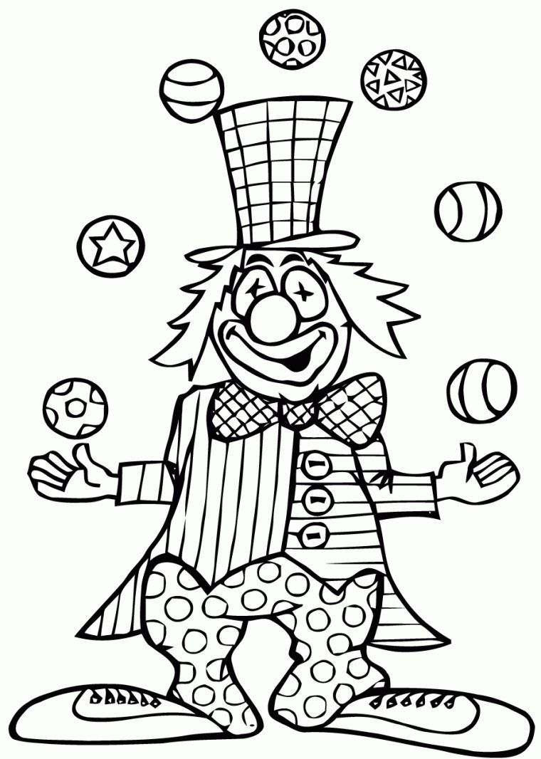 26 Dessins De Coloriage Cirque À Imprimer Dedans Dessin De tout Coloriage Cirque Maternelle