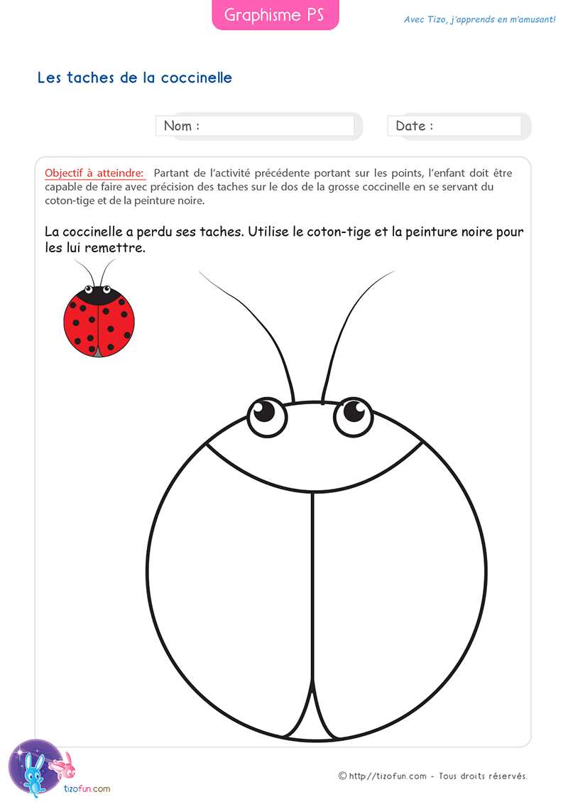 26 Fiches Graphisme Petite Section Maternelle, #fiches pour Fiche Maternelle Petite Section A Imprimer