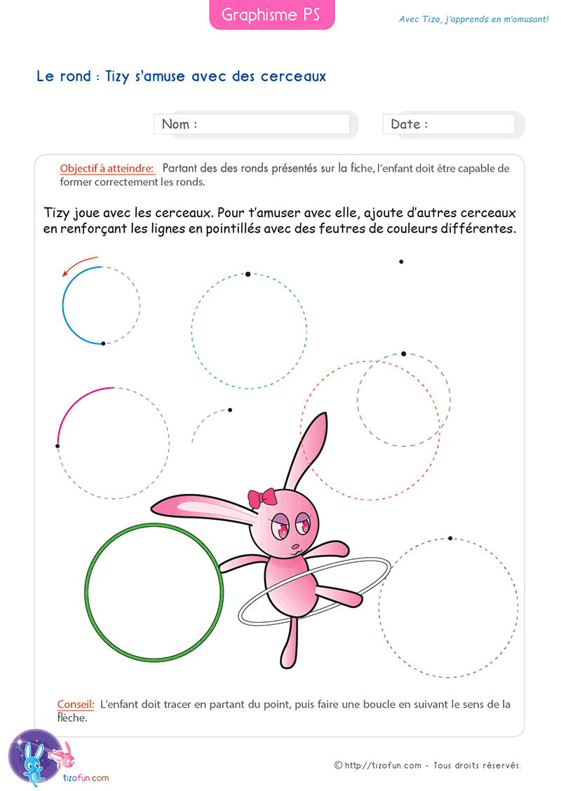 26 Fiches Graphisme Petite Section Maternelle intérieur Exercice De Graphisme Petite Section A Imprimer