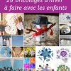28 Bricolages D'hiver Pour Les Vacances |La Cour Des Petits pour Activité Maternelle Hiver