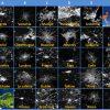 28 Capitales Européennes Vues De L'espace Et 28 Drapeaux. A avec Quiz Sur Les Capitales De L Union Européenne