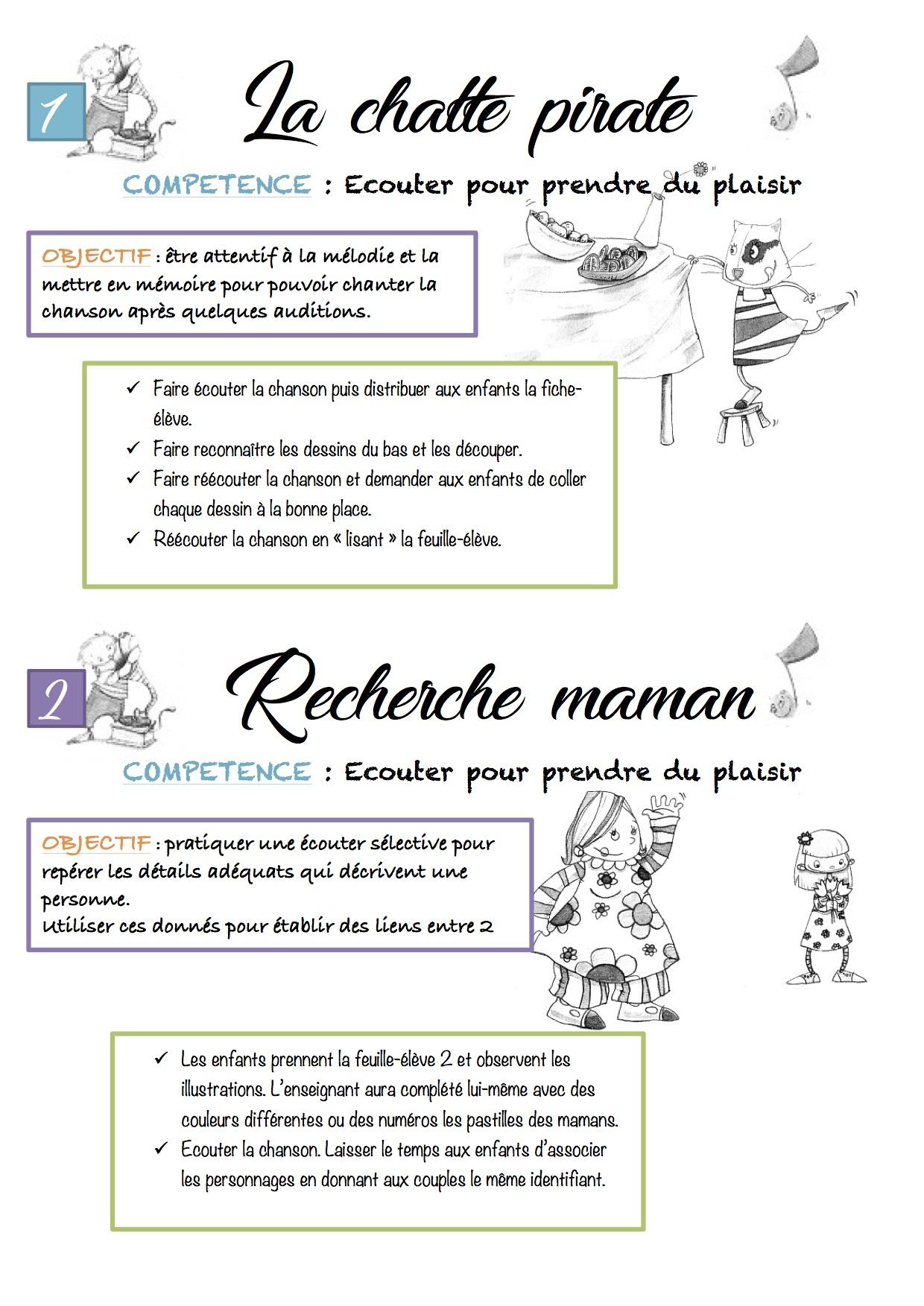 29 Jeux D'écoute 4 À 6 Ans Accès - La Classe De Luccia ! avec Activité Musicale Maternelle