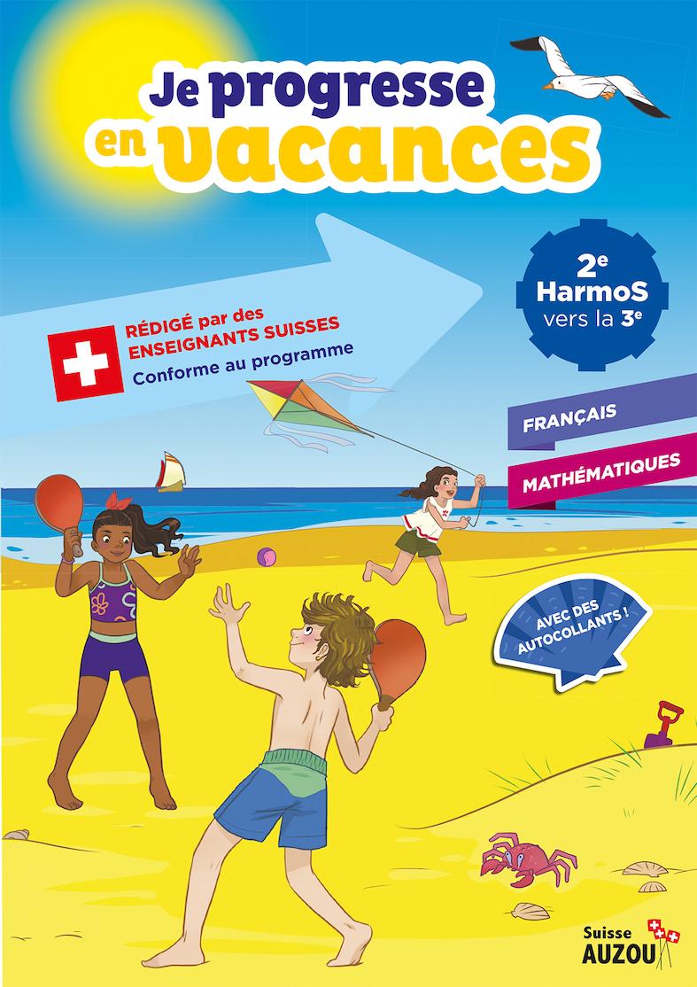 2Ème Harmos - Cahier De Vacances - Français Et Maths avec Cahier De Vacances Adultes Gratuit