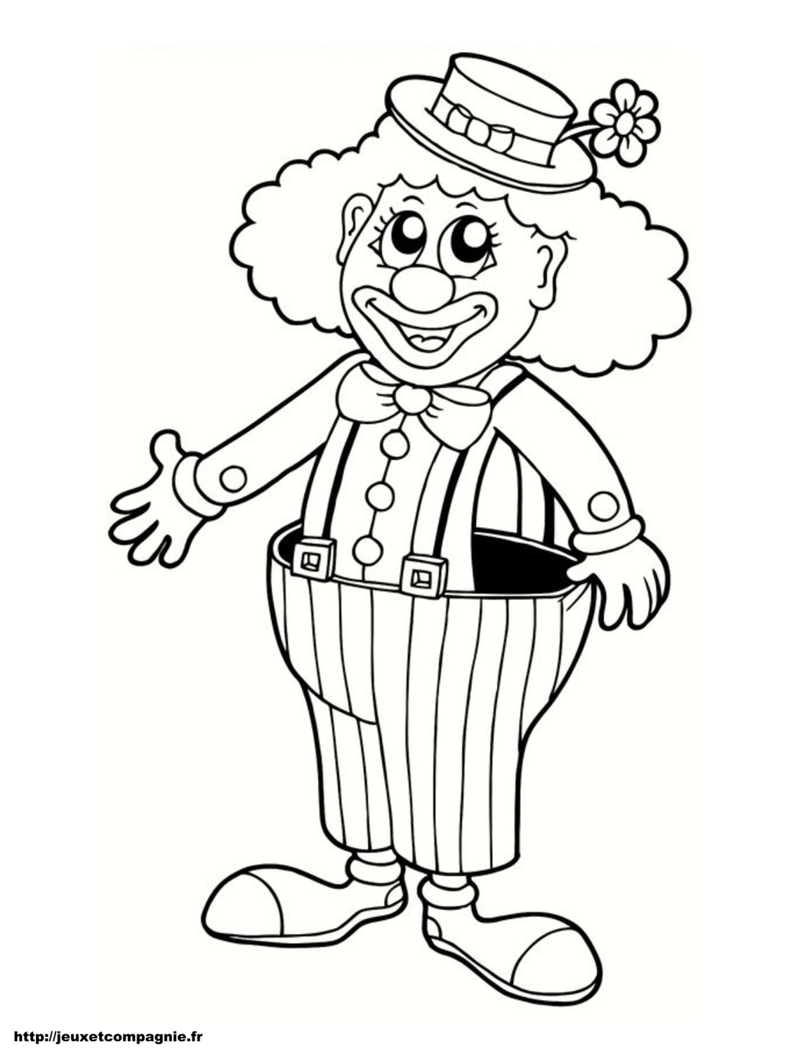 33 Dessins De Coloriage Clown À Imprimer à Coloriage Clown A Imprimer