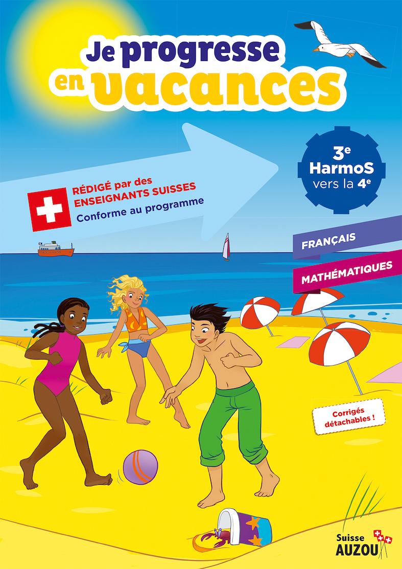 3Ème Harmos - Cahier De Vacances - Français Et Maths pour Cahier De Vacances Adultes Gratuit