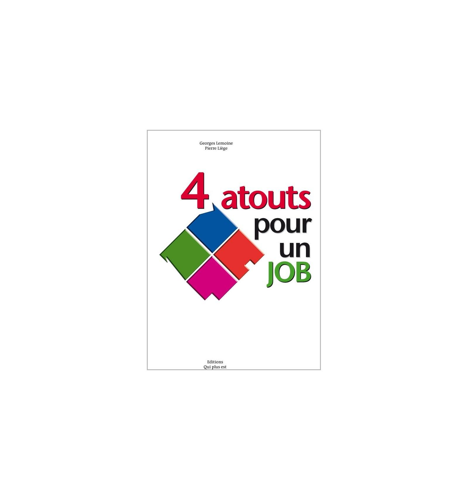 4 Atouts Pour Un Job : Jeu Et Exercices Sur La Recherche D'emploi encequiconcerne Jeu De 4 Images