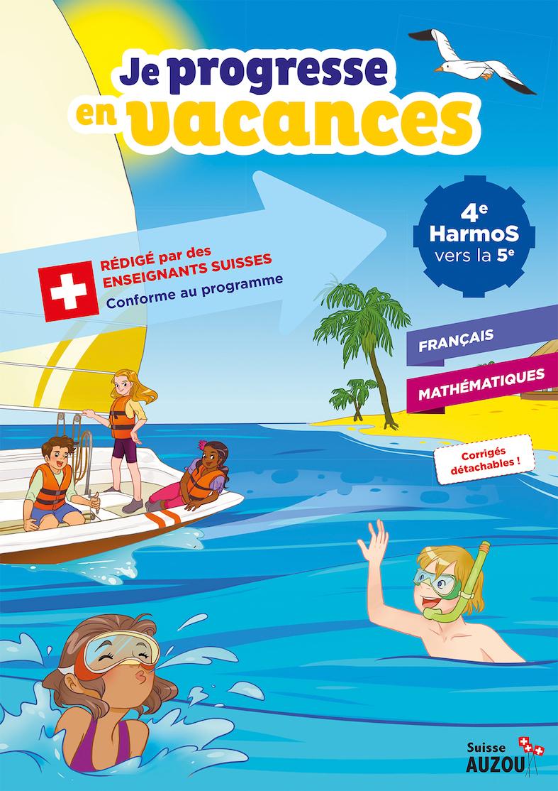 4Ème Harmos - Cahier De Vacances - Français Et Maths avec Cahier De Vacances Adultes Gratuit
