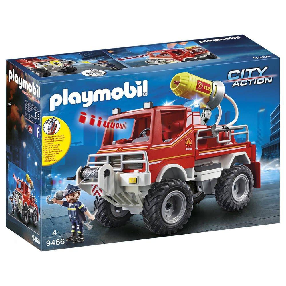 4X4 De Pompier Avec Lance-Eau - 9466 | Jeux De Constructions intérieur Jeu De Pompier Gratuit