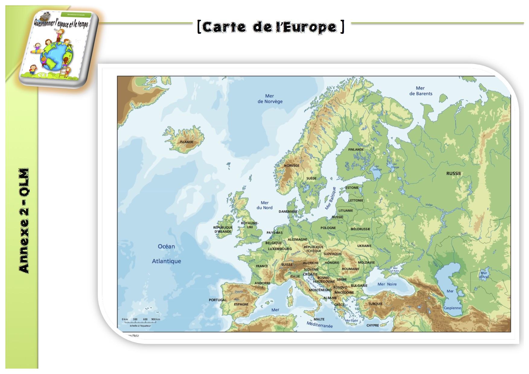 50 Expériences Qlm : L'espace - La Classe De Luccia ! avec Carte De France Ce1