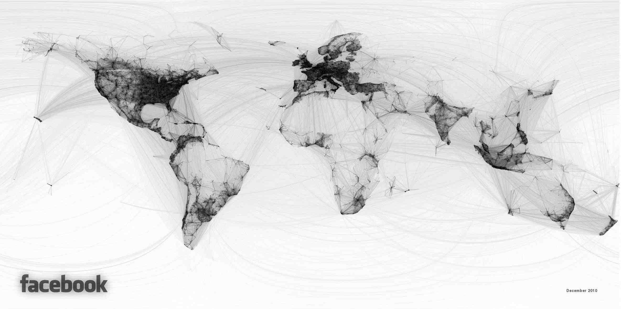 500 Millions D'amis, La Carte De Facebook – 1 destiné Carte Du Monde À Compléter En Ligne