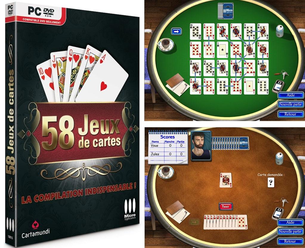 58 Jeux De Cartes Réunis En Un Seul Logiciel Pour Pc tout Jeux De Cartes À Télécharger Gratuitement