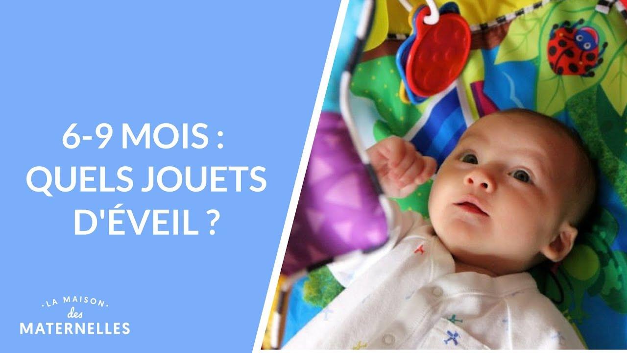 6-9 Mois : Quels Jouets D'éveil ? - La Maison Des Maternelles #lmdm avec Bebe 6 Mois Eveil