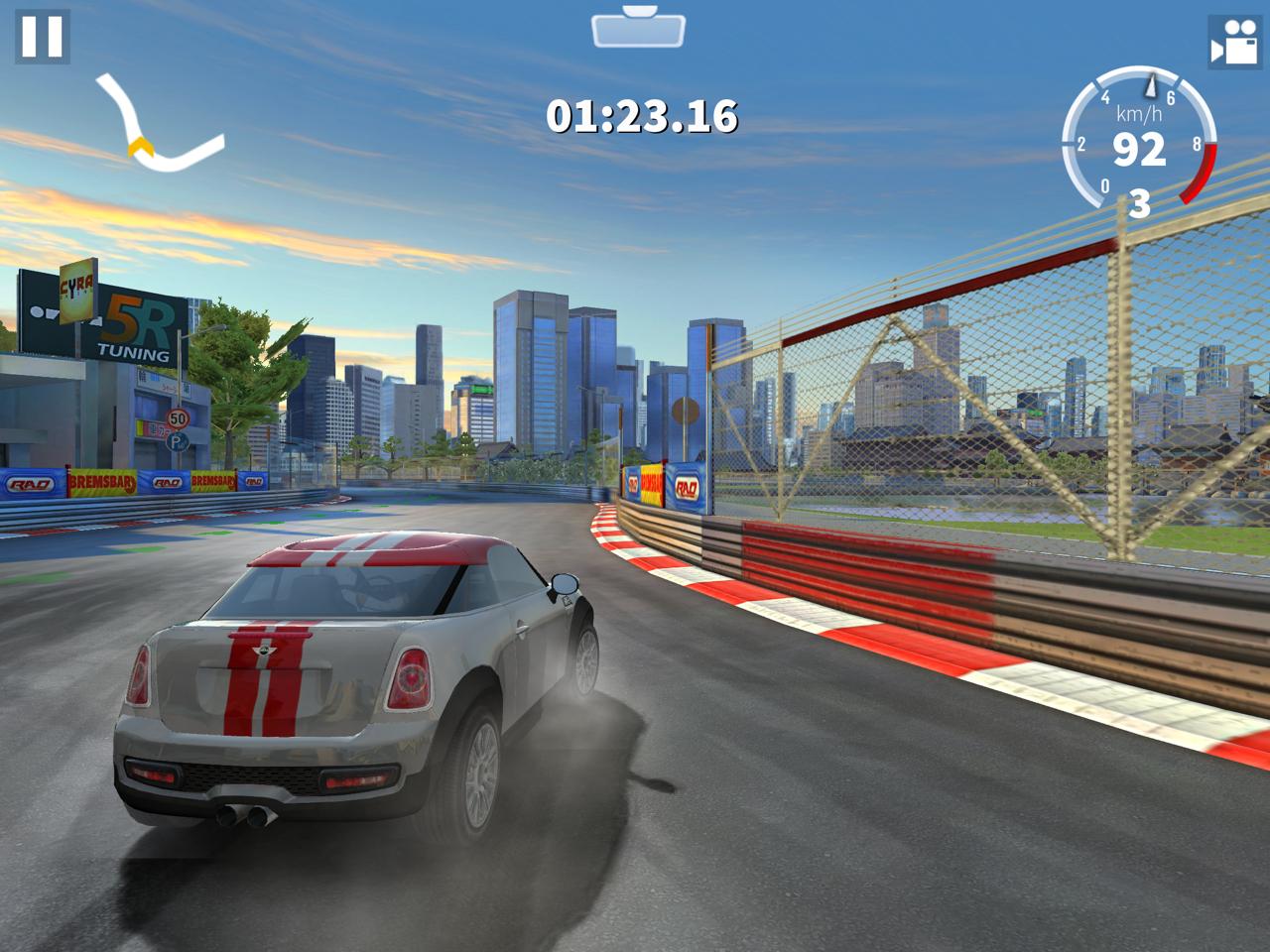 6 Jeux De Course Gratuits Pour Iphone, Ipad, Android Et intérieur Jeux De Voiture Au Volant