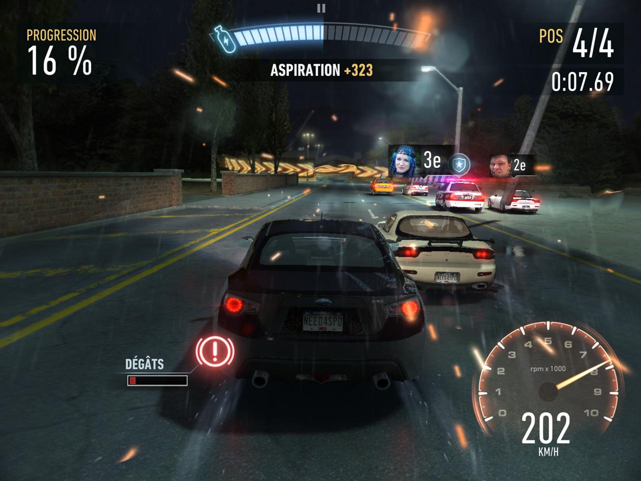 6 Jeux De Course Gratuits Pour Iphone, Ipad, Android Et tout Jeux De Voiture Avec La Police
