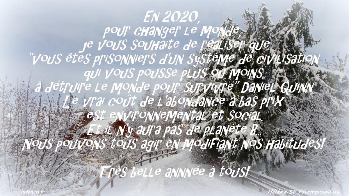 7 Cartes De Vœux De Bonne Année 2020 Avec Citations intérieur Carte De Bonne Année Gratuite A Imprimer
