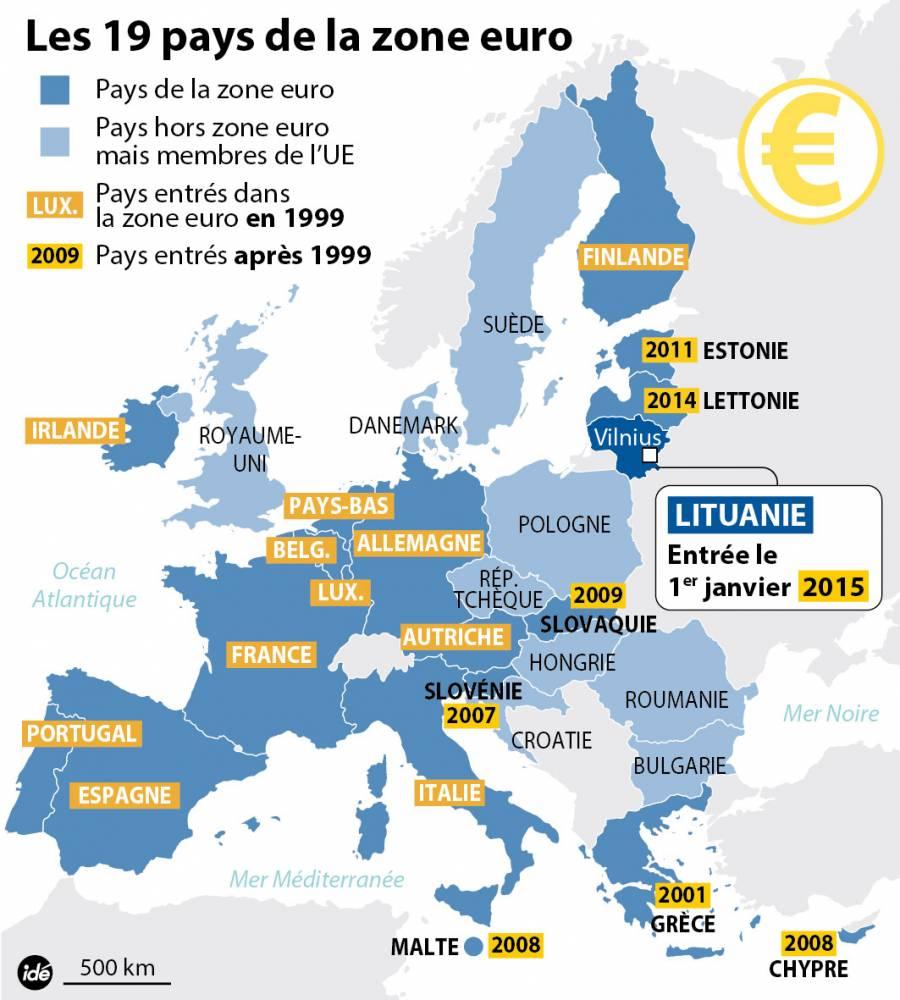 7 Détails À Savoir Sur L'euro Pour Son 15E Anniversaire pour Pays Membre De L Europe