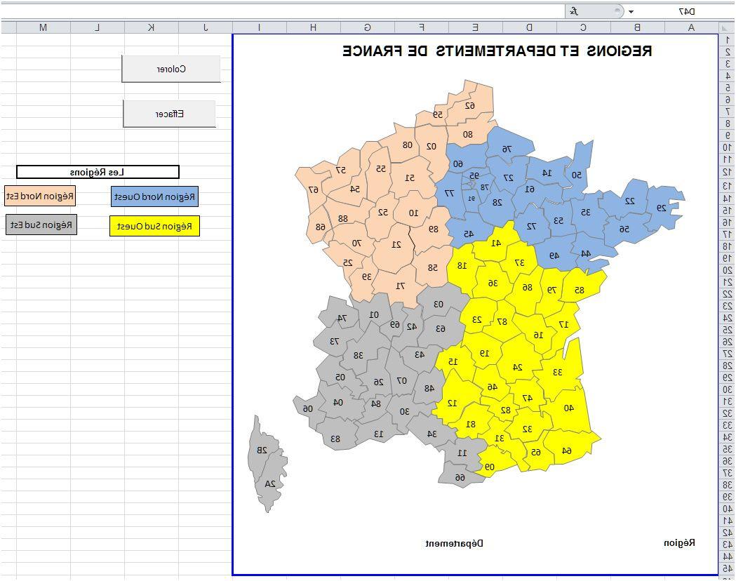 8 Complet Coloriage Carte De France Pictures pour Carte De France Département À Colorier