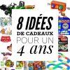 8 Idées De Cadeaux Pour Un Enfant De 4 Ans - Mummy Chamallow pour Jouet Pour Garçon De 4 Ans