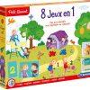 8 Jeux En 1 - Clementoni Petit Savant intérieur Jeux Montessori 2 Ans