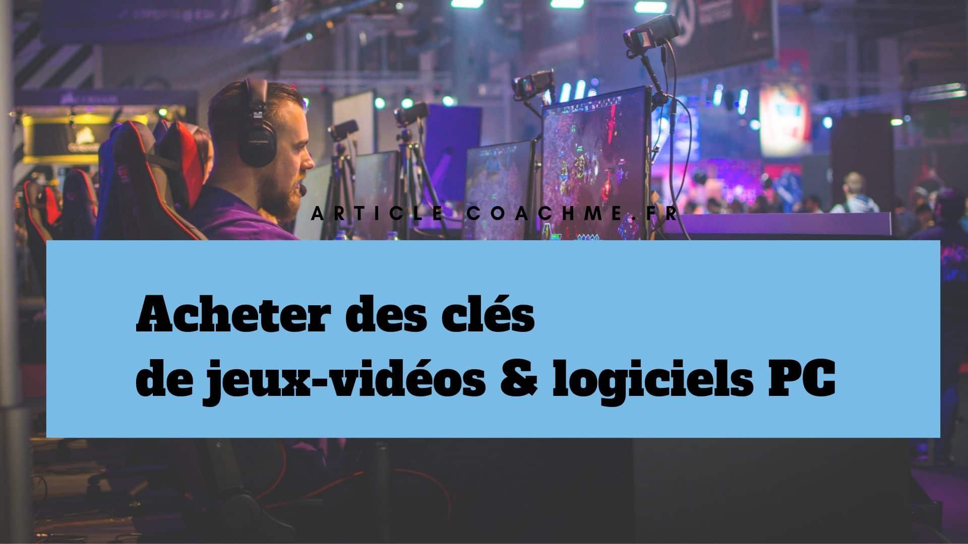 9 Sites Pour Acheter Des Clés De Jeux-Vidéos & Logiciels Pc destiné Logiciel Jeux Pc