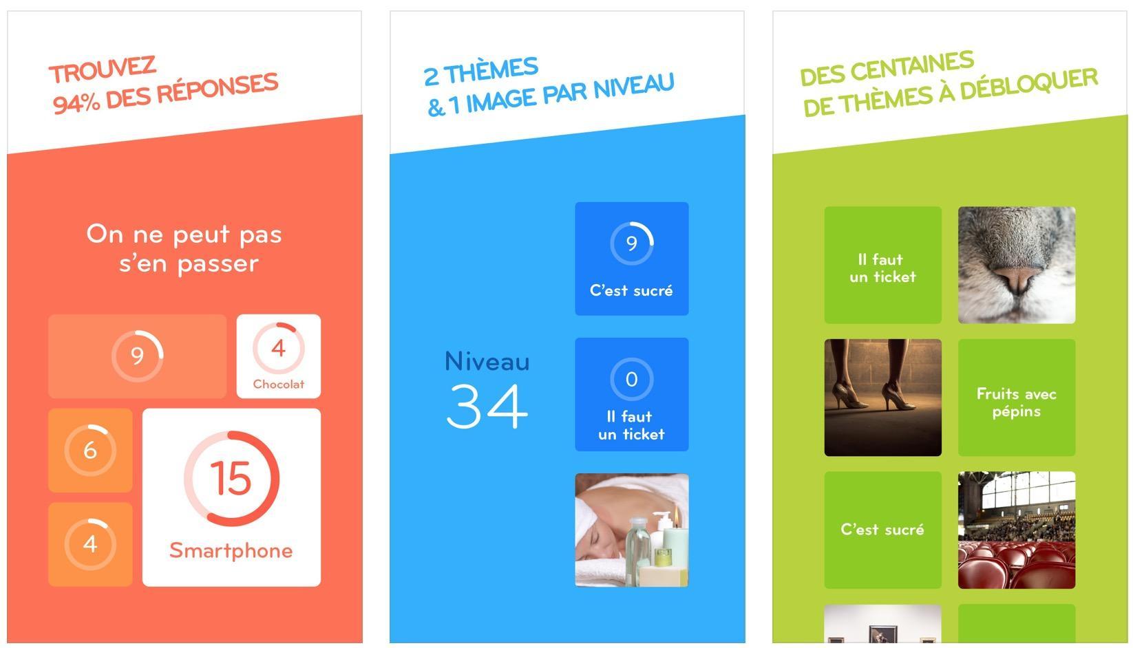 94% : Solutions Et Réponses Des Niveaux Du Jeu Pour Iphone avec Jeux De Solution Gratuit