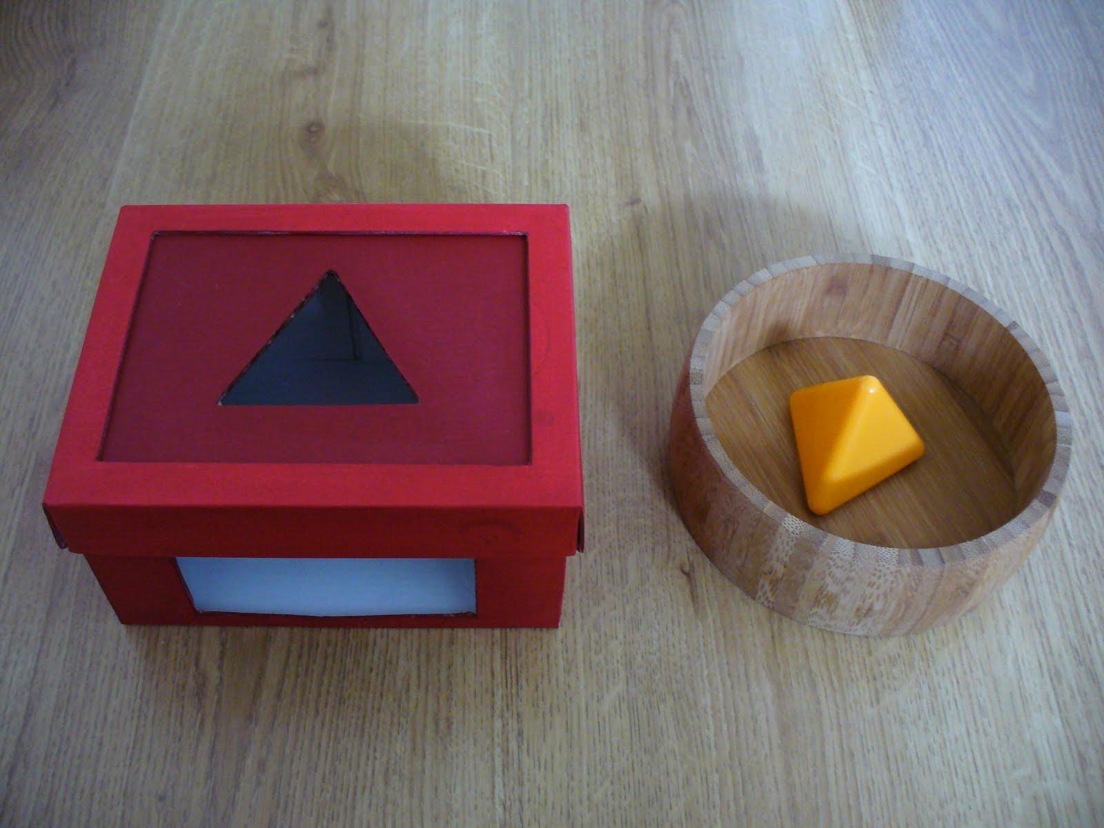 A La Douce: Une Boîte À Formes Évolutive tout Boite À Forme Montessori