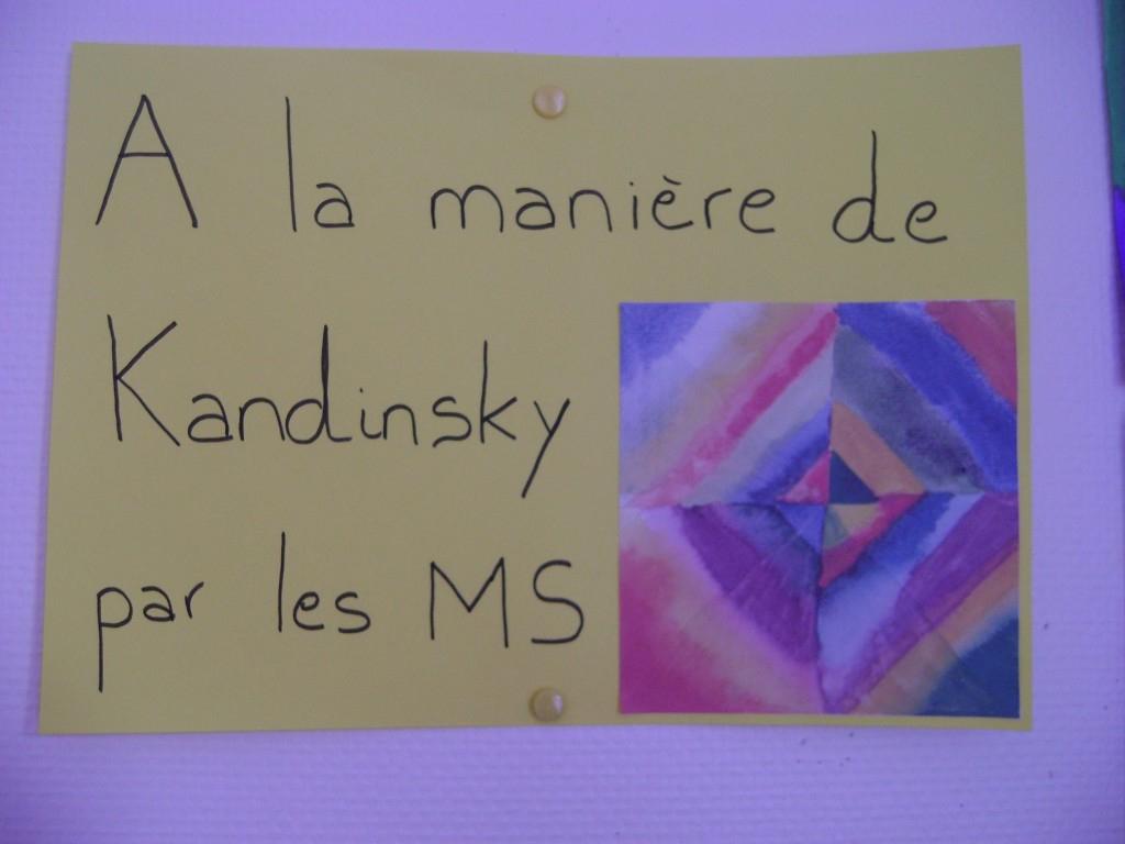 A La Manière De … – Ecole Ste Thérèse Angles à Traits Obliques Ms