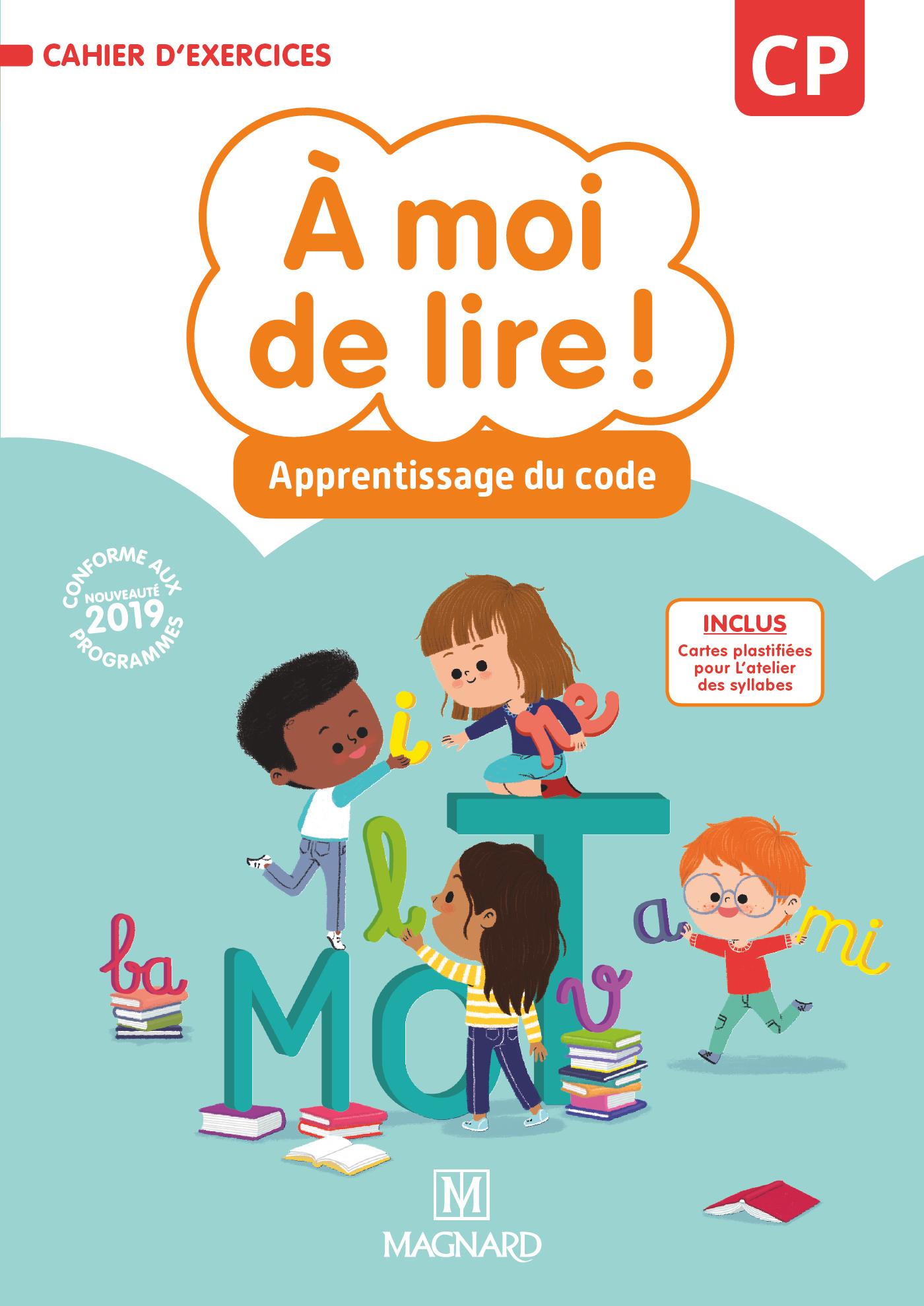 À Moi De Lire ! Cp (2019) - Cahier D'apprentissage De Code serapportantà Cahier D Exercice Cp