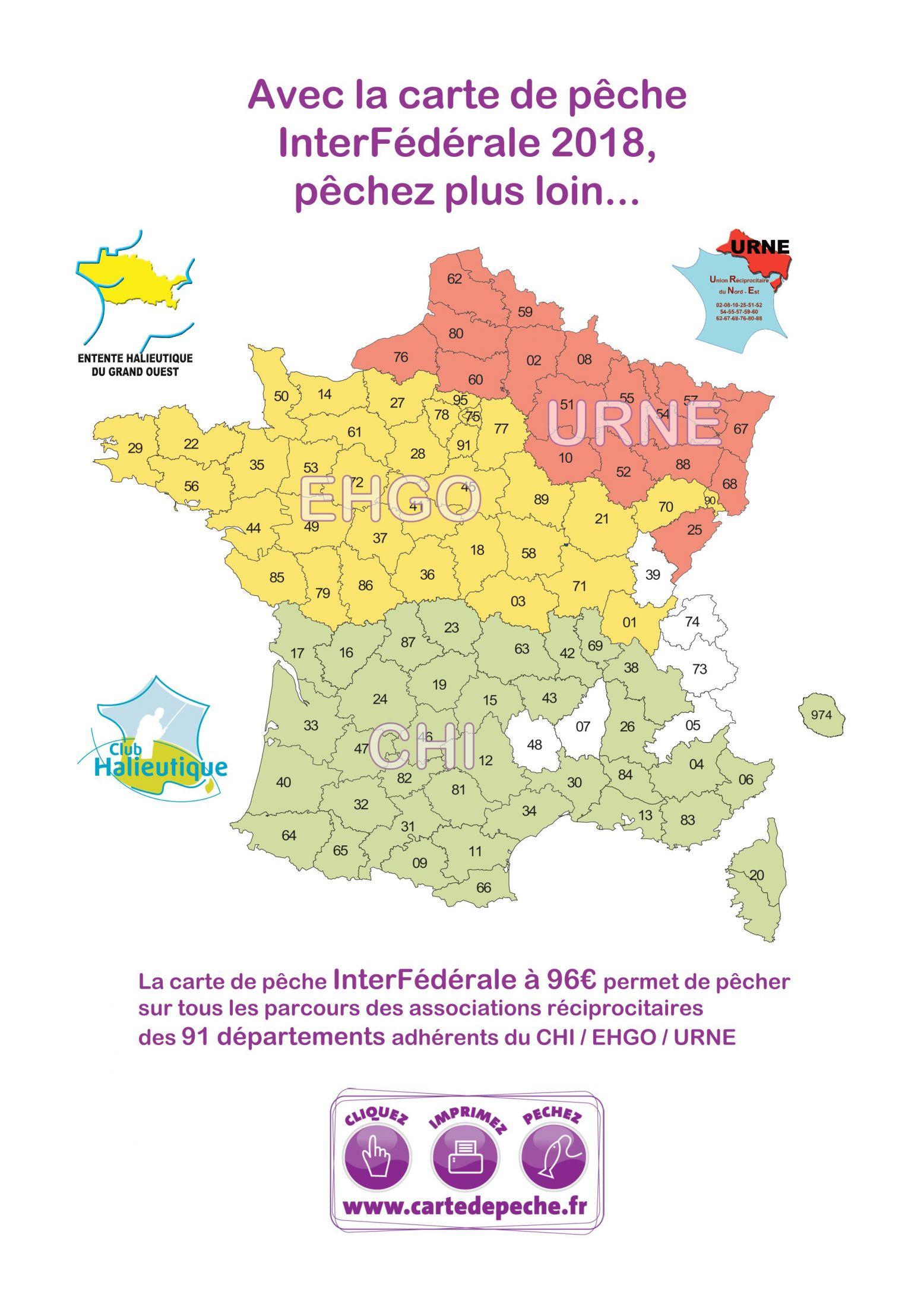 Aappma Du Pays Perche intérieur Département 57 Carte