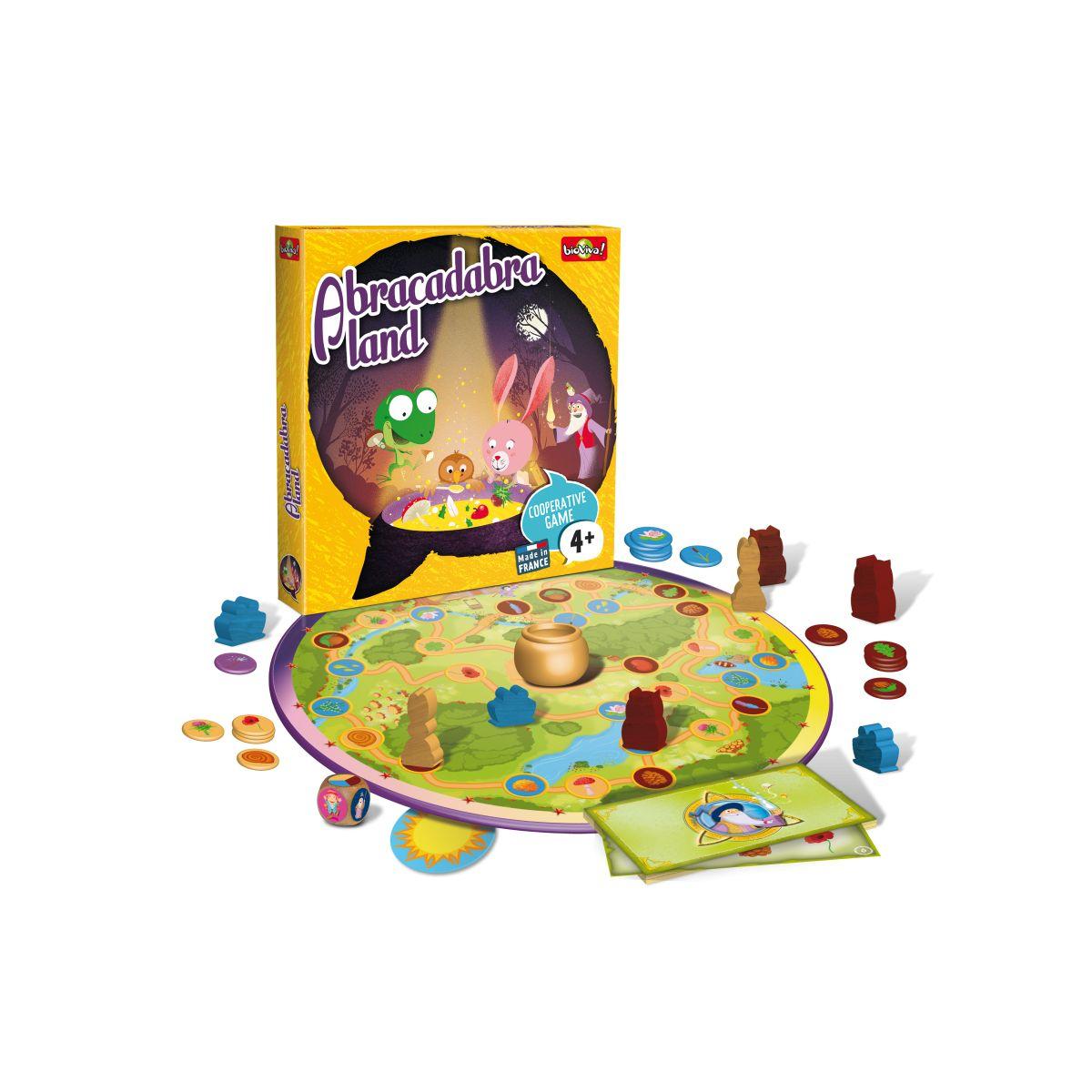 Abracadabra Land - À Partir De 4 Ans avec Jeux De Société À Partir De 4 Ans