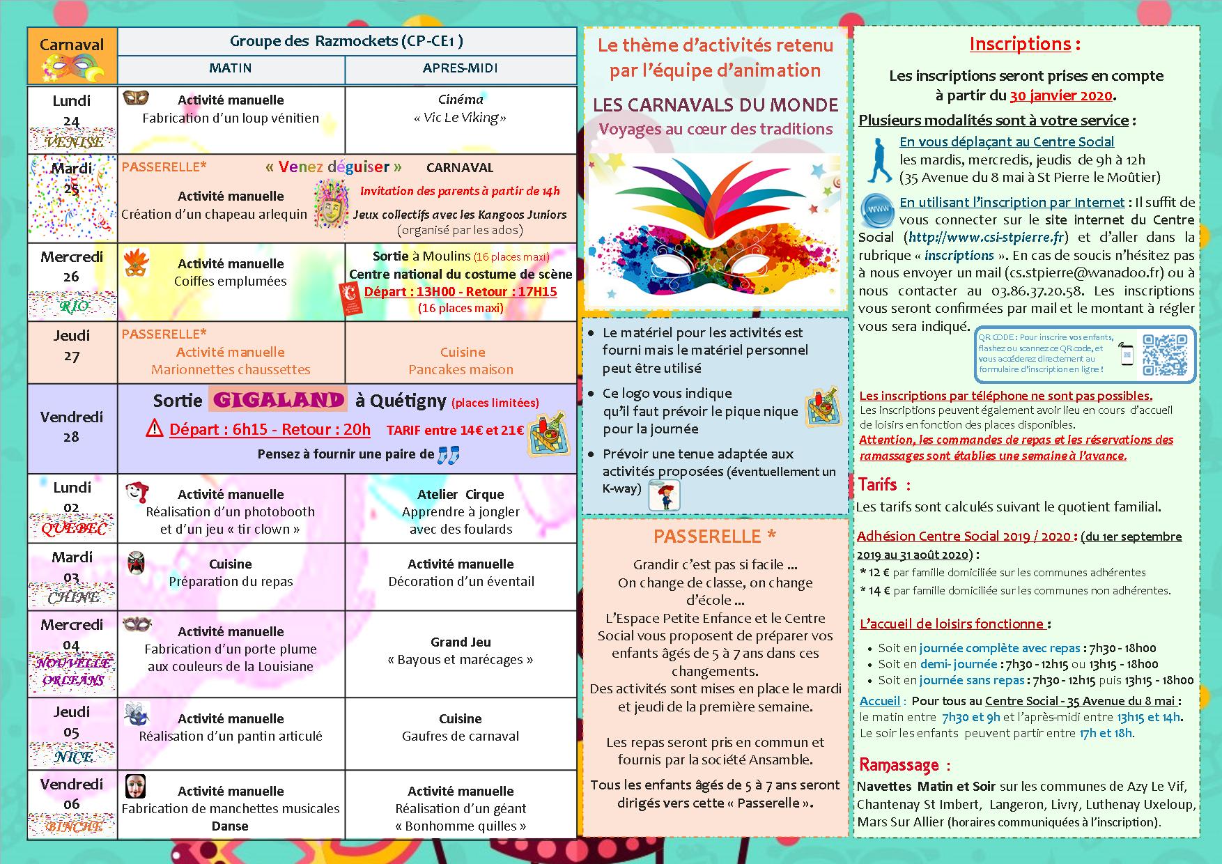 Accueil De Loisirs – Vacances D'hiver - Centre Social Du pour Activité Manuelle Pour Cp