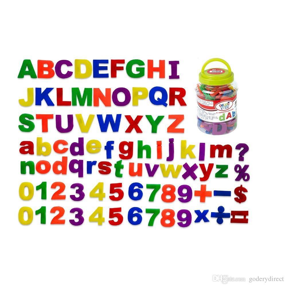 Acheter Lettres Et Chiffres Magnétiques Pour Les Enfants Qui Étudient En  S'amusant Alphabet Éducatif Aimants Pour Réfrigérateur Alphabet Magnétique encequiconcerne Chiffre Pour Enfant