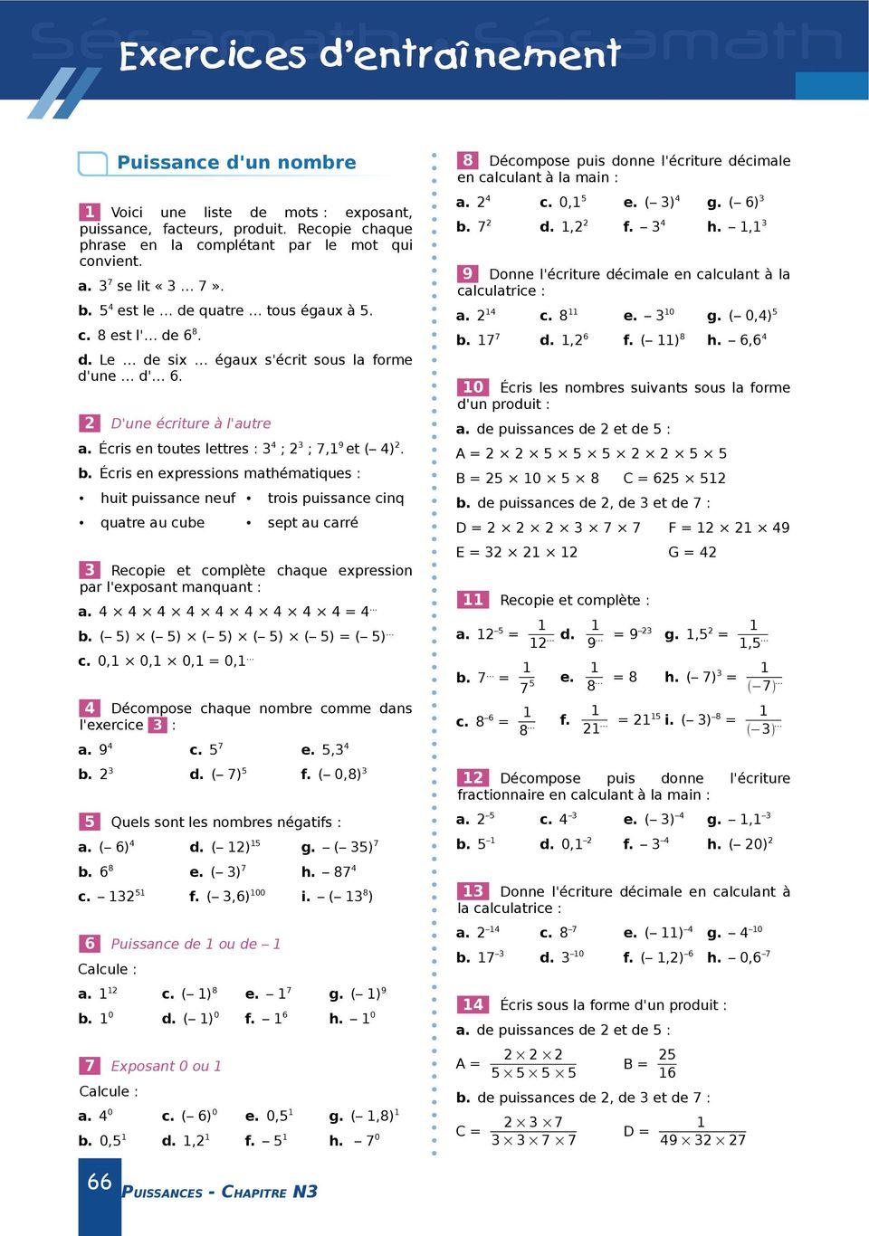 Activité 1 : Le Triangle De Sierpinski - Pdf Téléchargement dedans Exercice De Math Sur Les Puissances