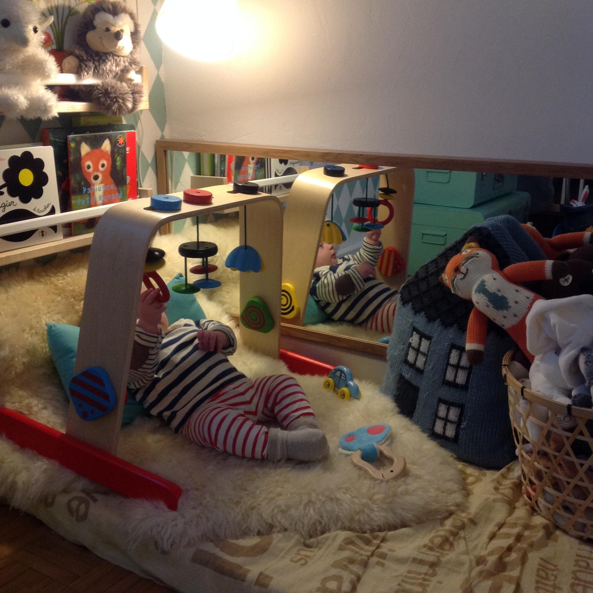 Activite : Des Jouets Pour Tout-Petits De 1 À 3 Mois intérieur Jeux D Eveil Bébé 2 Mois