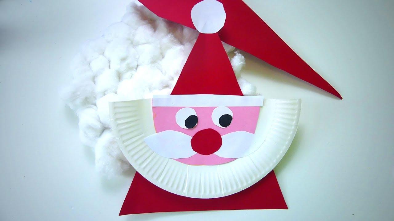 Activité Manuelle Noël - Diy Père Noël Décoration à Activités Manuelles Enfants Noel