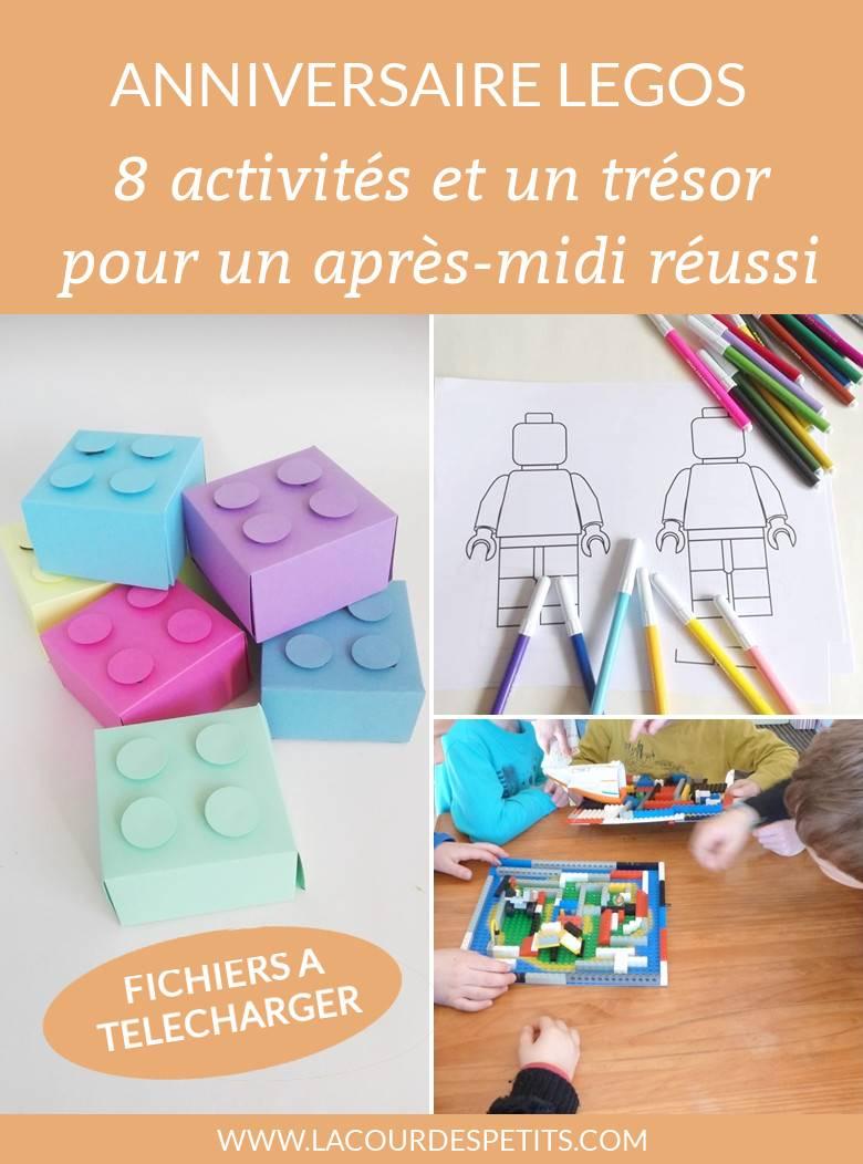 Activités, Déco Et Gâteau Pour Un Anniversaire Légo | La destiné Activités Éducatives Pour Les 0 2 Ans