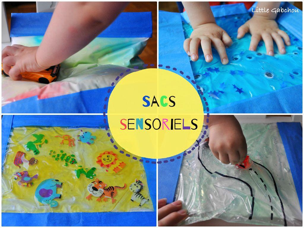 Activités D'inspiration Montessori: Les Sacs Sensoriels destiné Activités Éducatives Pour Les 0 2 Ans
