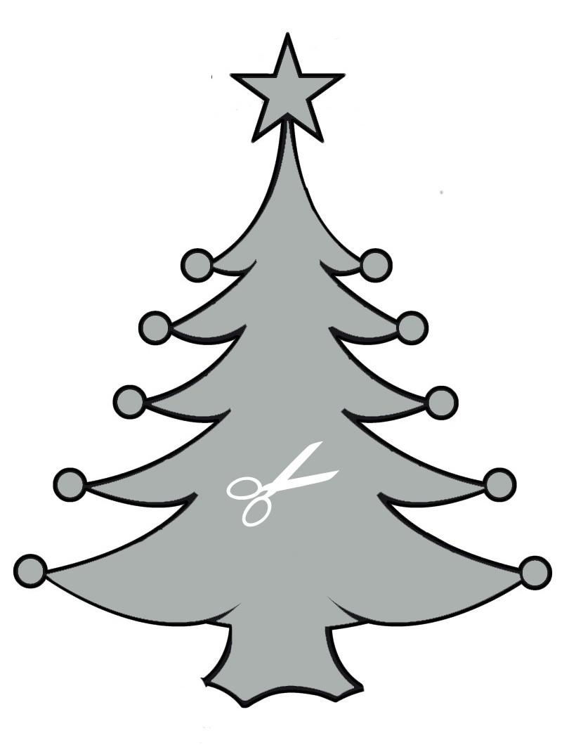 Activités Manuelles Pochoirs De Noël Pour La Décoration Des concernant Décorations De Noel À Imprimer