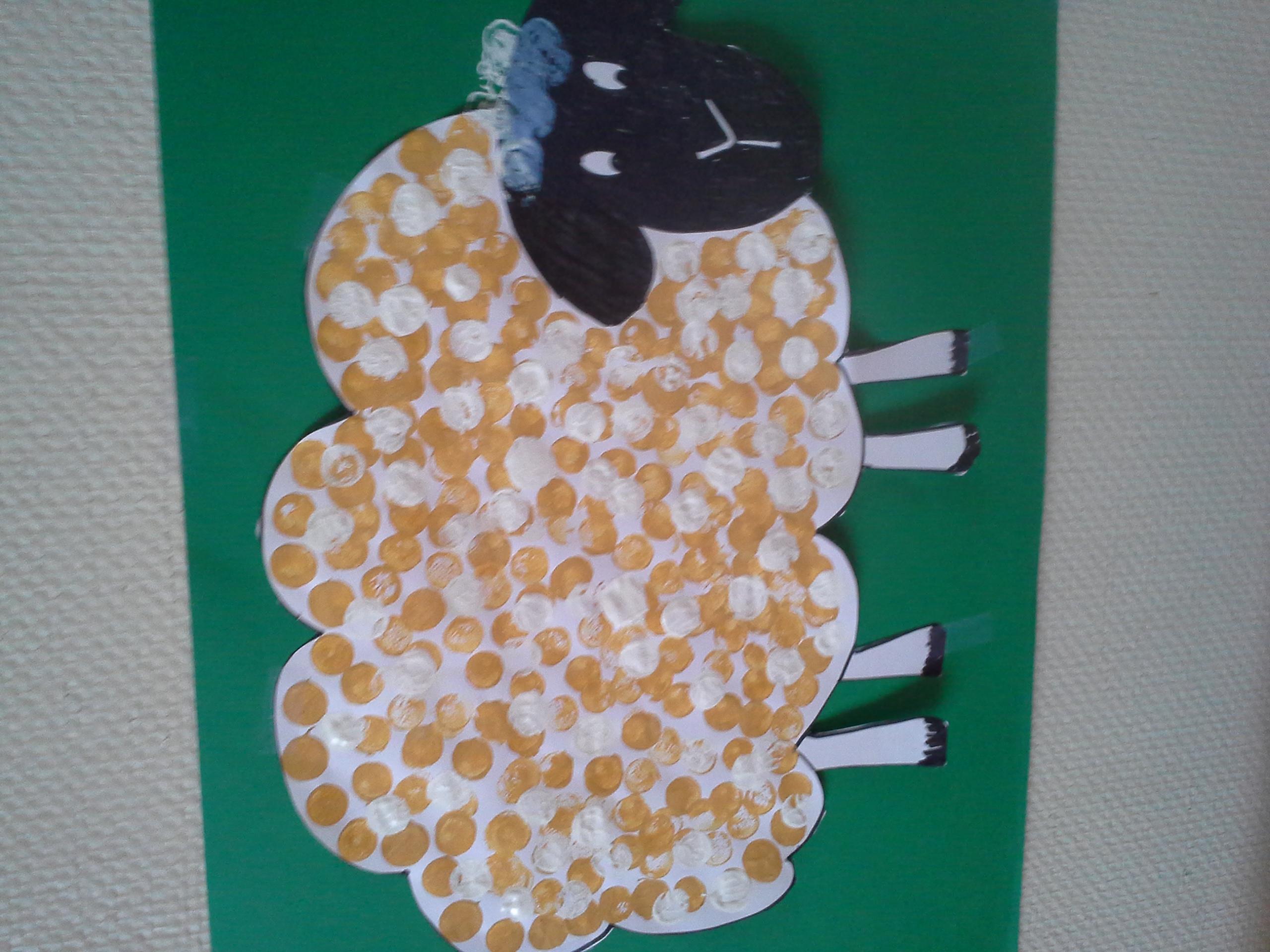 Activites Manuelles Sur Le Theme De La Ferme Le Mouton dedans Activité Manuelle Animaux