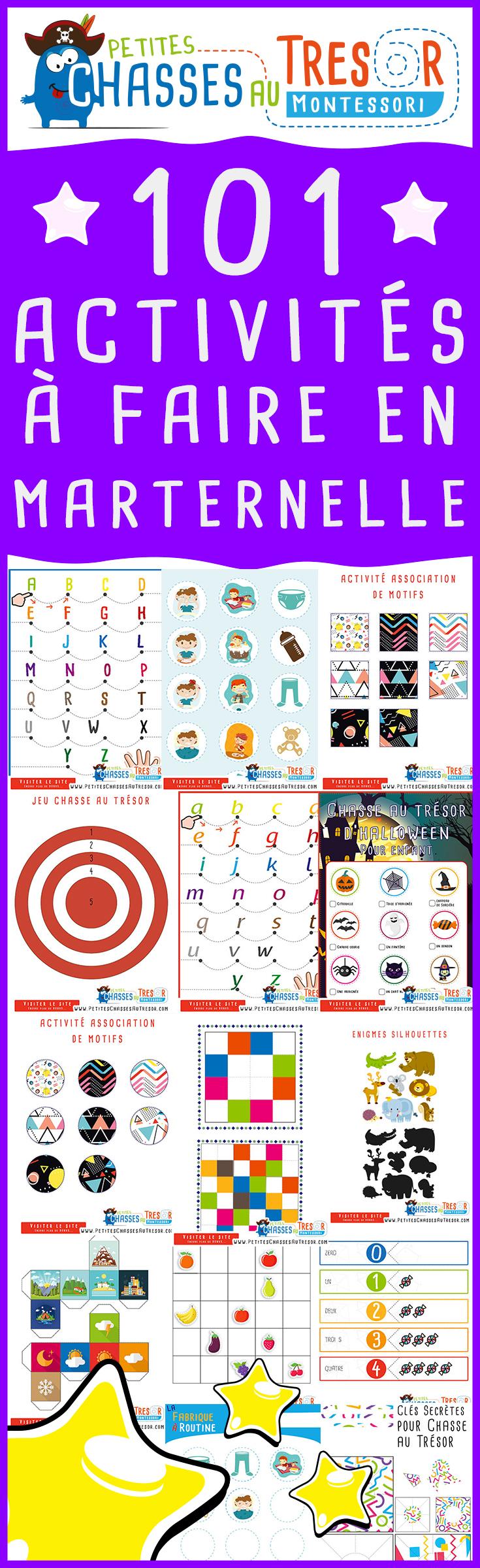 Activités Maternelle Pour Enfant À Imprimer. Des Kits dedans Activité Ludique Maternelle