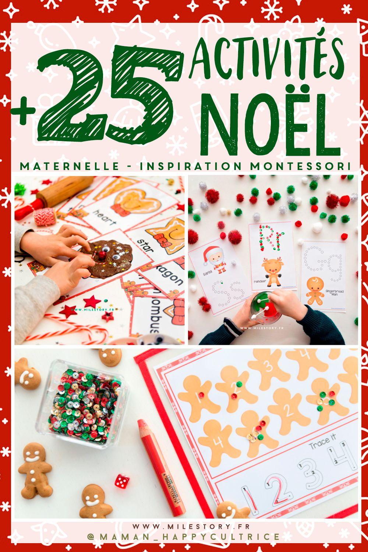 Activités Noël Maternelle - Activite Manuelle Noel Primaire intérieur Activité De Noel Maternelle