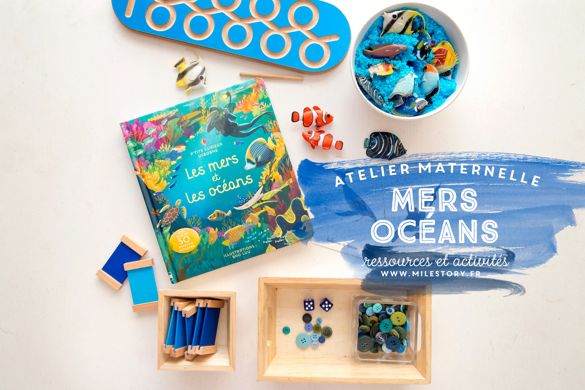 Activités Océans, Mer, Plage Et Coquillages - Maternelle intérieur Activité Ludique Maternelle