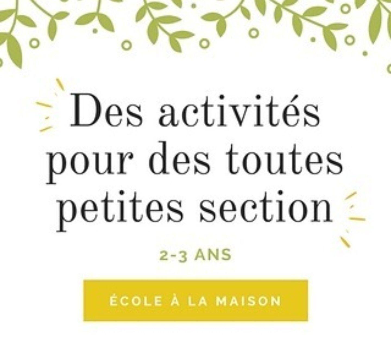 Activités Pour Les Enfants De 2-3 Ans En Toute Petite destiné Exercice Toute Petite Section