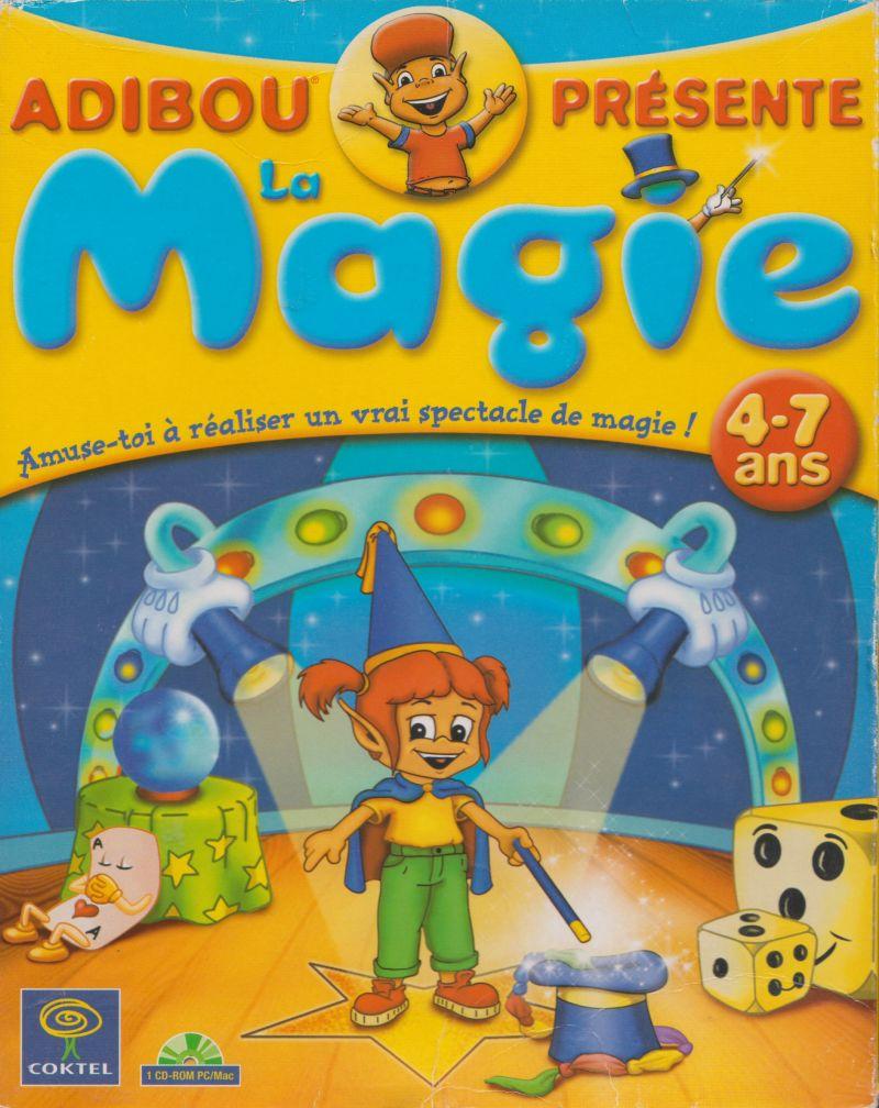 Adibou Présente La Magie (2000) Box Cover Art - Mobygames tout Jeux Adibou Pc
