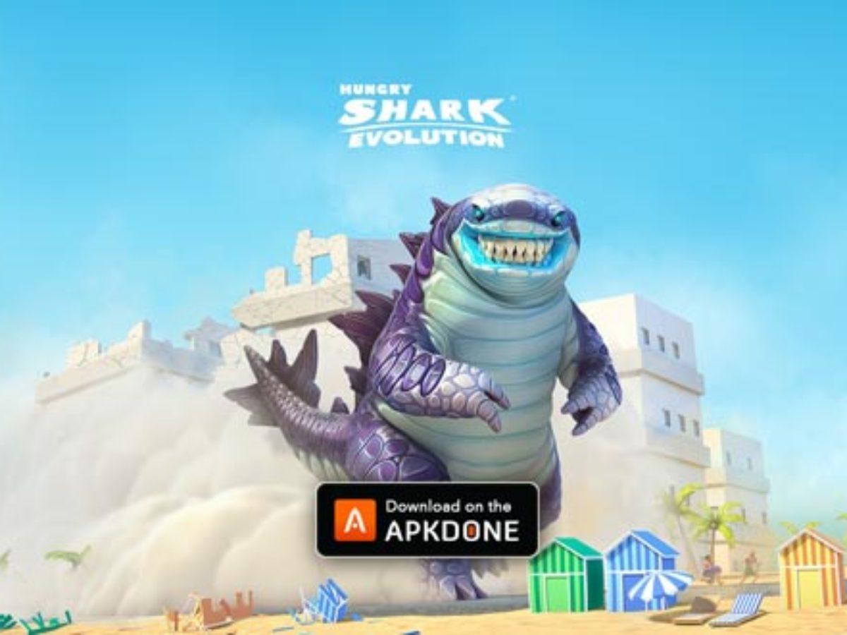 Affamé Requin Évolution Mod Apk 7.0.0 (Monnaies Illimitées tout Tous Les Jeux De Requin
