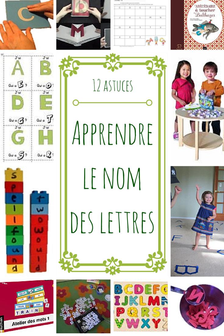Aider Les Élèves À Mémoriser Le Nom Des Lettres - Maitresseuh concernant Activités Sur Les Lettres De L Alphabet En Maternelle