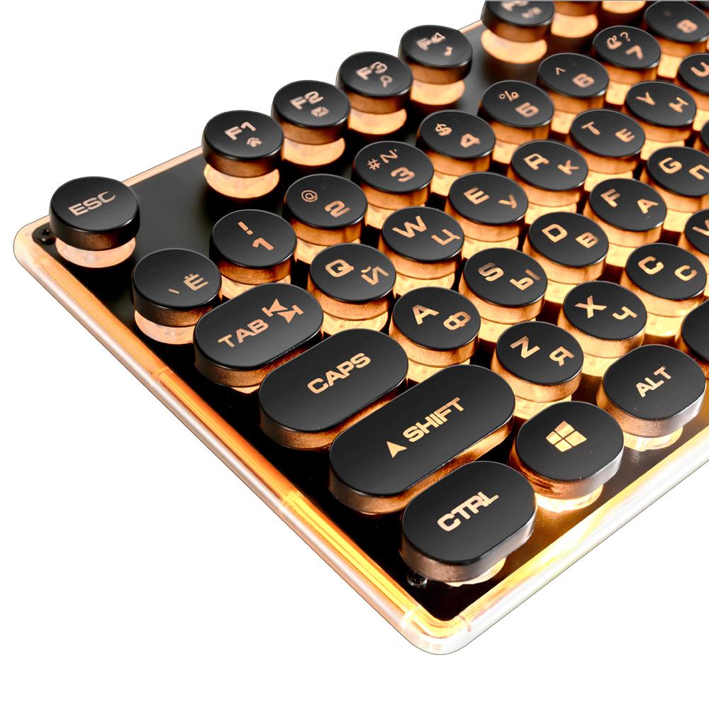 Aimee91: Vente Gaming Clavier Russe Rétro Rond Lumineux encequiconcerne Clavier Russe En Ligne