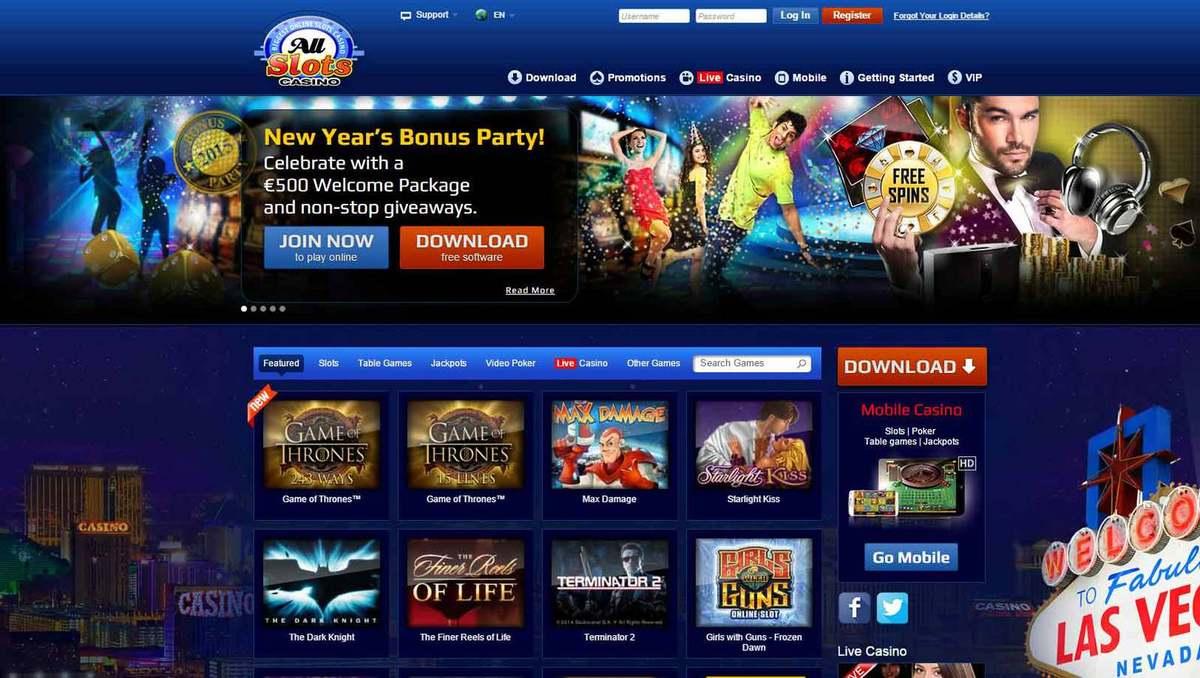All Slots Casino - Jeux De Casino Gratuits serapportantà Jeux Internet Gratuit Francais