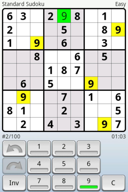 Andoku Sudoku Pour Android - Télécharger pour Logiciel Sudoku Gratuit